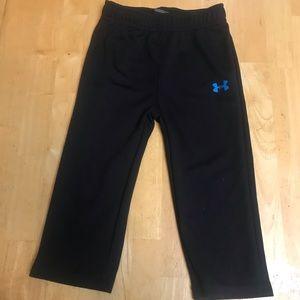 5/20$ under armour light weight black jogging pants 18 months